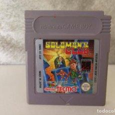 Videojuegos y Consolas: SOLOMONS CLUB GAME BOY. Lote 94984687