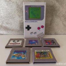 Videojuegos y Consolas: CONSOLA GAME BOY CLÁSICA CON JUEGOS. Lote 94985195