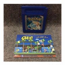 Videojuegos y Consolas: POKEMON AZUL·GAME BOY. Lote 95545671