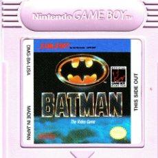 Videojuegos y Consolas: BATMAN GAME BOY NINTENDO JOKER DC TIM BURTON. Lote 95680479