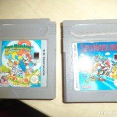 Videojuegos y Consolas: LOTE 2 JUEGOS GAME BOY NINTENDO.SUPER MARIO LAND Y SUPER MARIO LAND 2,6 GOLDEN COINS.. Lote 95698239
