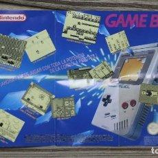 Videojuegos y Consolas: POSTER GAME BOY AÑOS 80 PERFECTO ESTADO.. Lote 96135067