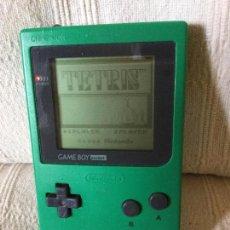 Videojuegos y Consolas: NINTENDO GAME BOY POCKET COLOR VERDE CON JUEGO TETRIS. Lote 98479479