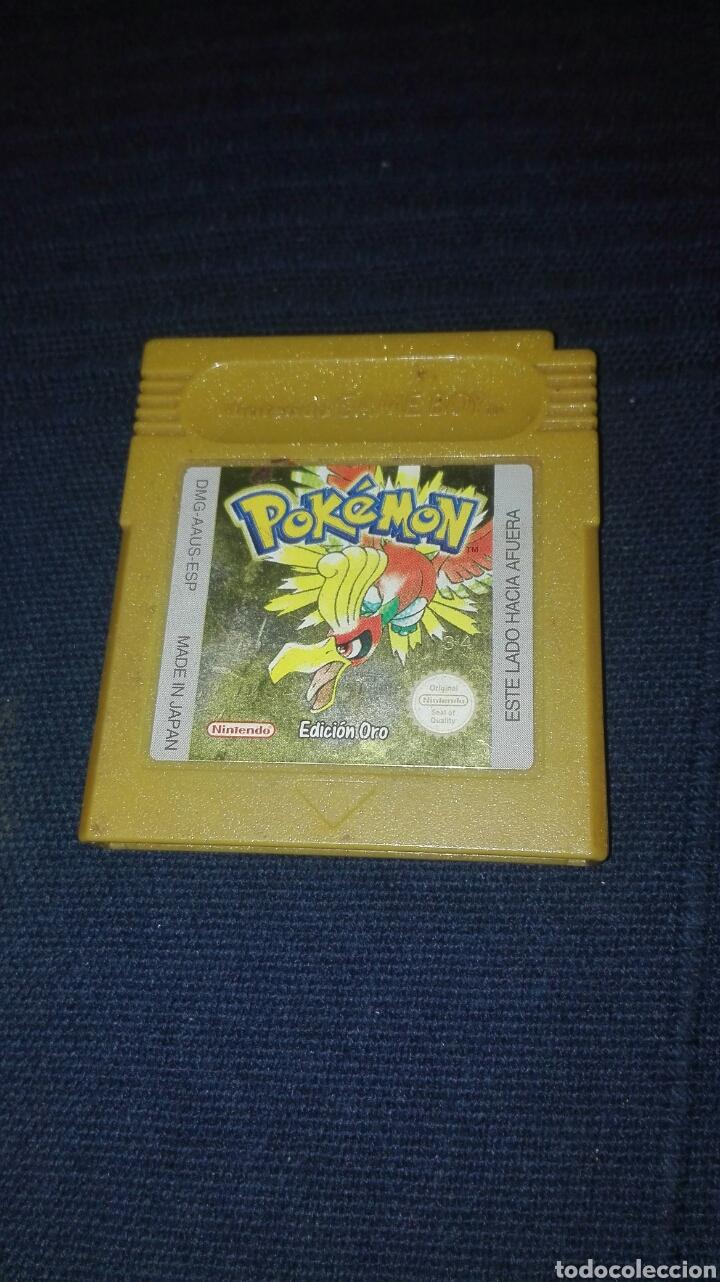 JUEGO DE GAME BOY POKEMOM EDICION ORO (Juguetes - Videojuegos y Consolas - Nintendo - GameBoy)
