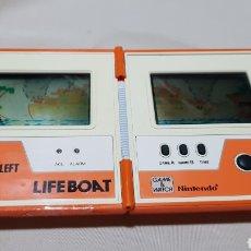 Videojuegos y Consolas: NINTENDO GAME AND WATCH LIFEBOAT LIFE BOAT . LEER. Lote 100394351