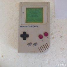 Videojuegos y Consolas: CONSOLA NINTENDO GAMEBOY CLÁSICA ORIGINAL GAME BOY CON TAPA DE PILAS Y FUNCIONANDO. CLASSIC. Lote 100475567