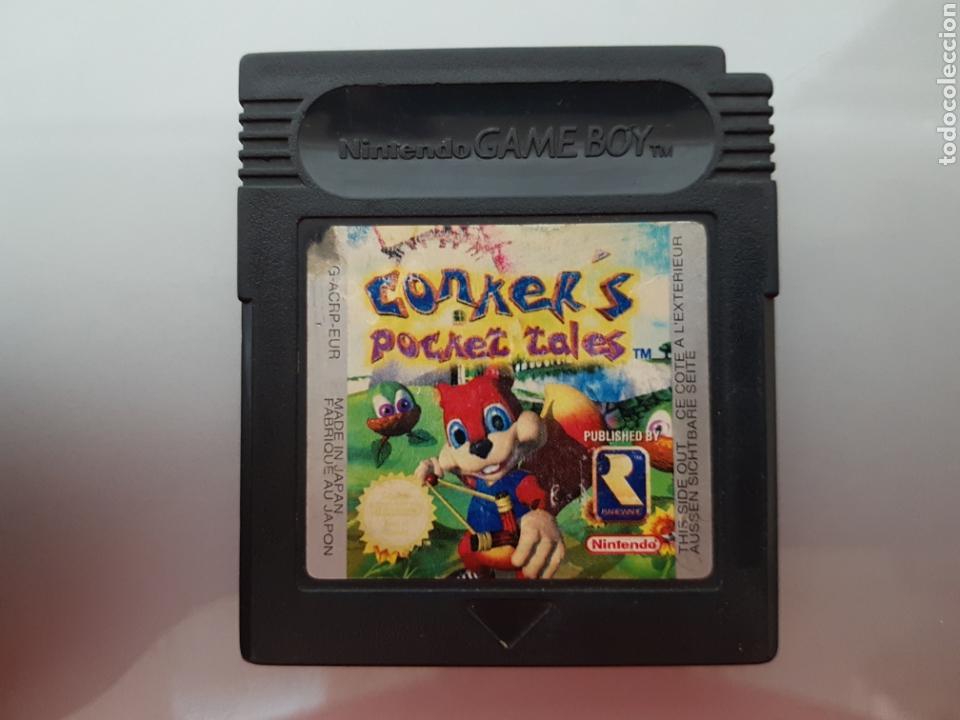 CONKER'S POCKET TALES NINTENDO GAME BOY (Juguetes - Videojuegos y Consolas - Nintendo - GameBoy)