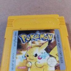 Videojuegos y Consolas: JUEGO GAMEBOY GAME BOY POKEMON AMARILLO. Lote 103735987