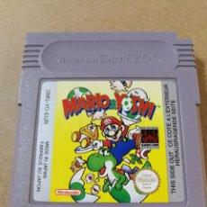 Videojuegos y Consolas: JUEGO GAMEBOY GAME BOY MARIO & YOSHI. Lote 100738463