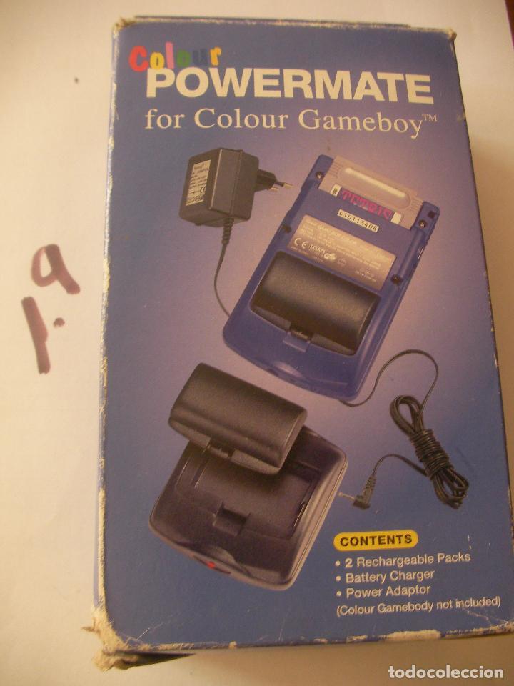LOTE DE CARGADOR Y PILA RECARGABLE PARA CONSOLA GAMEBOY EN SU CAJA (Juguetes - Videojuegos y Consolas - Nintendo - GameBoy)