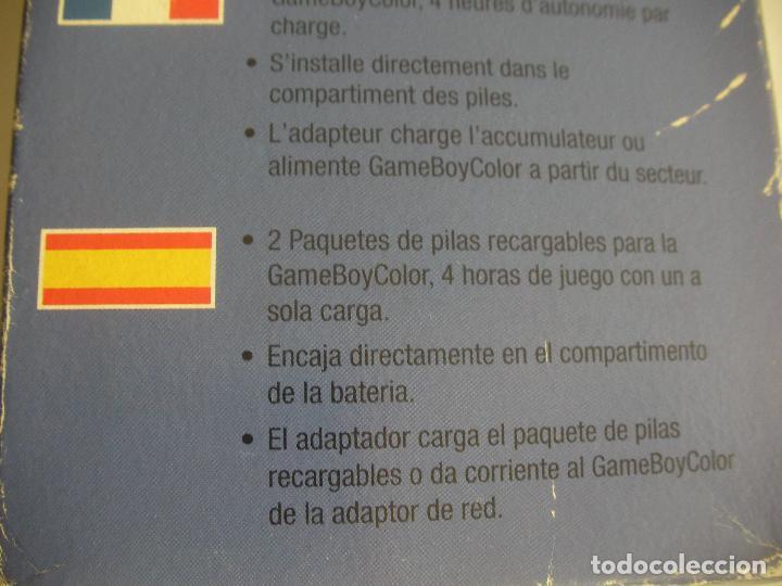 Videojuegos y Consolas: LOTE DE CARGADOR Y PILA RECARGABLE PARA CONSOLA GAMEBOY EN SU CAJA - Foto 2 - 101745807