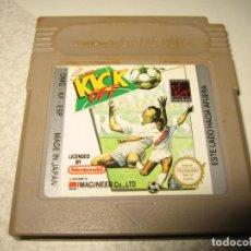 Videojuegos y Consolas: SUPER KICK OFF NINTENDO GAMEBOY CLASICA EDCION ESPAÑOLA. Lote 102628655