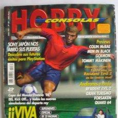 Videojuegos y Consolas: LOTE DE 10 REVISTAS HOBBY CONSOLAS DEL NUMERO 80 AL 89 EN BUEN ESTADO. Lote 102834399