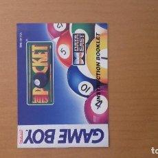 Videojuegos y Consolas: MANUAL SIDE POCKET GAME BOY . Lote 103845451