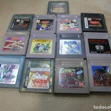 Videojuegos y Consolas: LOTE 13 JUEGOS NINTENDO GAME BOY GAMEBOY ZELDA POKEMON JAPAN. Lote 103980831