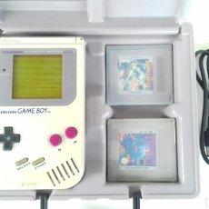 Videojuegos y Consolas: GAME BOY CLÁSICA (1989) MÁS JUEGOS TETRIS Y ALLEYWAY (ARKANOID). Lote 105596734