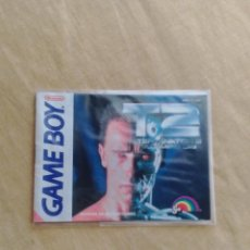 Videojogos e Consolas: MANUAL DE INSTRUCCIONES JUEGO GAME BOY TERMINATOR 2 JF. Lote 105708575