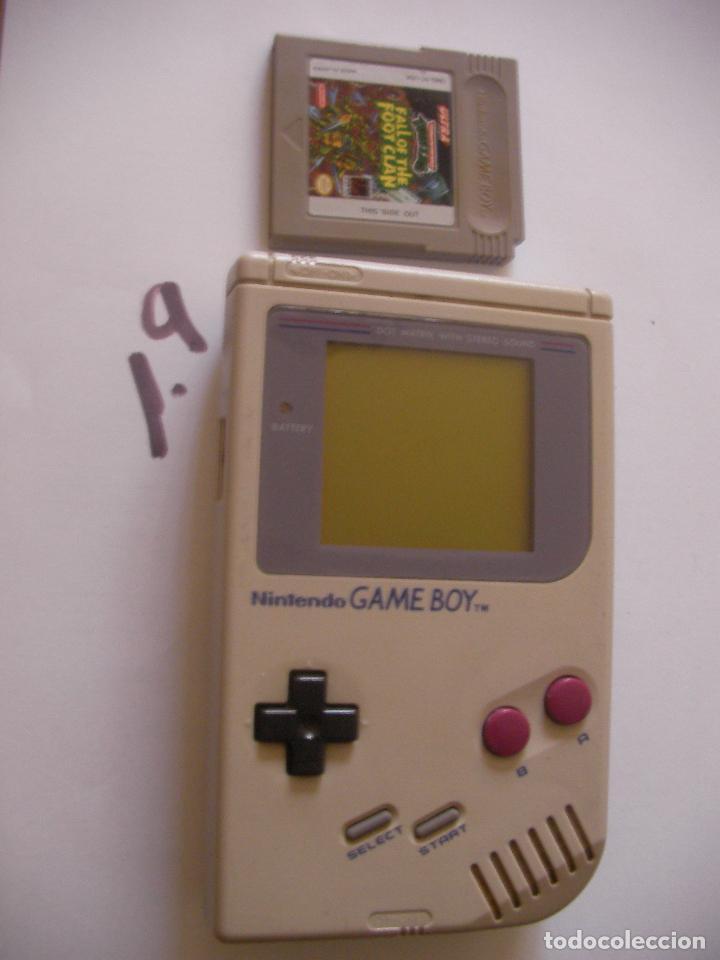 ANTIGUA CONSOLA GAMEBOY CON JUEGO TORTUGA NINJAS (Juguetes - Videojuegos y Consolas - Nintendo - GameBoy)