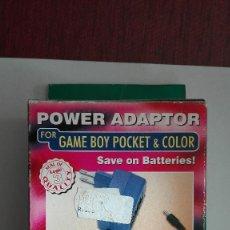 Videojuegos y Consolas: ADAPTADOR DE CORRIENTE PARA GAMEBOY POCKET Y COLOR NUEVO GAME BOY. Lote 107300991