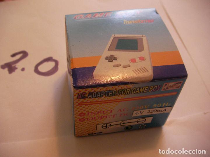 ADAPTADOR CARGADOR PARA GAMEBOY NUEVO EN SU CAJA (Juguetes - Videojuegos y Consolas - Nintendo - GameBoy)