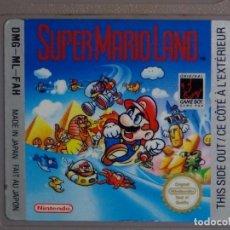 Videojuegos y Consolas: JUEGO GAME BOY - SUPER MARIO LAND. Lote 108924955