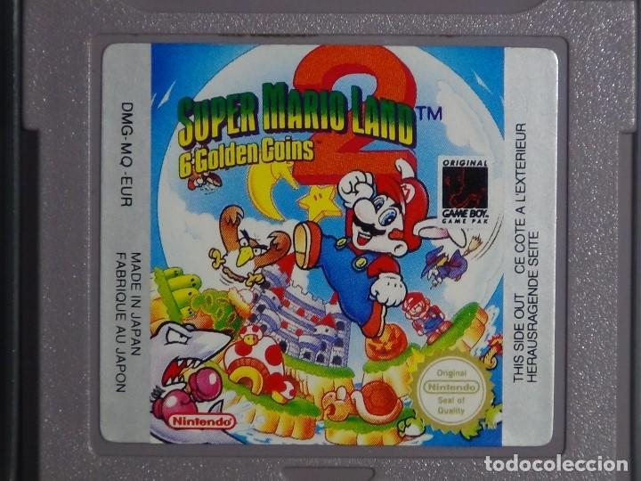 JUEGO GAME BOY - SUPER MARIO LAND 2 (Juguetes - Videojuegos y Consolas - Nintendo - GameBoy)