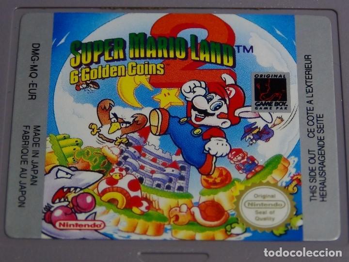 Videojuegos y Consolas: JUEGO GAME BOY - Super Mario Land 2 - Foto 4 - 108925075