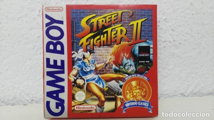 NINTENDO GAME BOY CAJA VACIA JUEGO STREET FIGHER II (Juguetes - Videojuegos y Consolas - Nintendo - GameBoy)