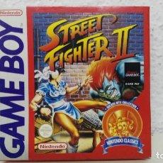 Videojuegos y Consolas: NINTENDO GAME BOY CAJA VACIA JUEGO STREET FIGHER II. Lote 109540659