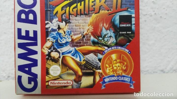 Videojuegos y Consolas: nintendo game boy caja vacia juego street figher II - Foto 2 - 109540659
