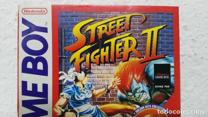 Videojuegos y Consolas: nintendo game boy caja vacia juego street figher II - Foto 3 - 109540659