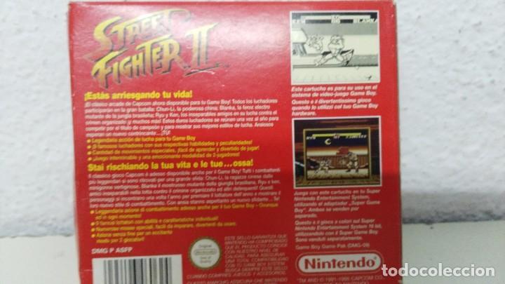 Videojuegos y Consolas: nintendo game boy caja vacia juego street figher II - Foto 5 - 109540659