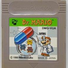 Videojuegos y Consolas: JUEGO NINTENDO GAME BOY DR. MARIO EDICION JAPONESA. Lote 110453687