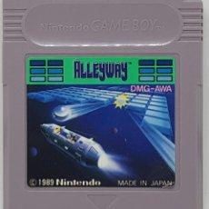 Videojuegos y Consolas: JUEGO NINTENDO GAME BOY MARIO ALLEWAY EDICION JAPONESA . Lote 136193445
