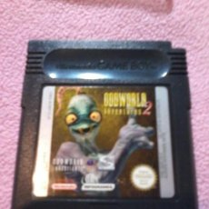 Videojuegos y Consolas: NINTENDO GAME BOY ODDWORLD 2 RARO. Lote 111198783
