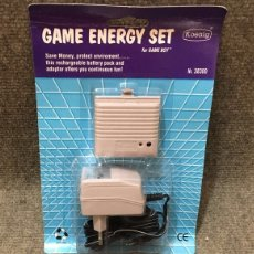 Videojuegos y Consolas: BATERIA CARGADOR·GAME ENERGY SET NUEVO NINTENDO GAME BOY. Lote 111210895