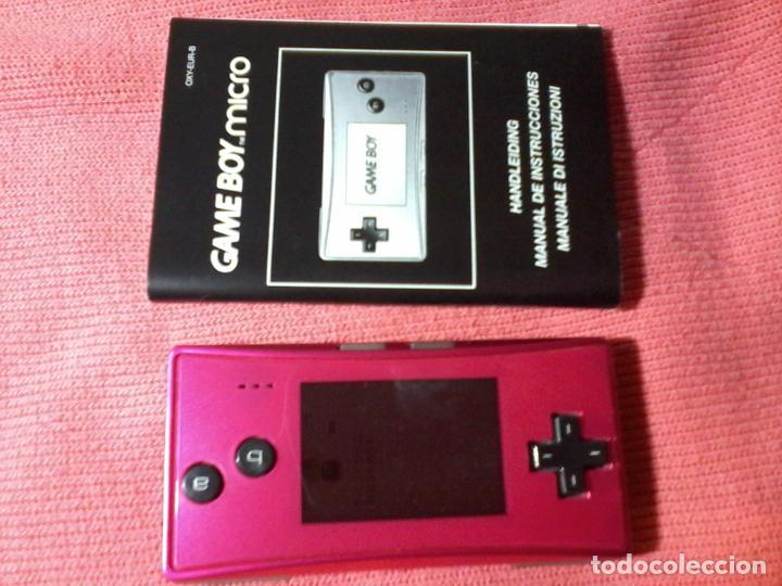 CONSOLA GAMEBOY GAME BOY MICRO MODEL ROSA (Juguetes - Videojuegos y Consolas - Nintendo - GameBoy)
