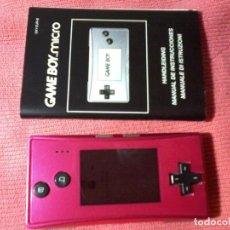 Videojuegos y Consolas: CONSOLA GAMEBOY GAME BOY MICRO MODEL ROSA. Lote 111696975
