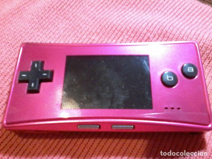 Videojuegos y Consolas: CONSOLA GAMEBOY GAME BOY MICRO MODEL ROSA - Foto 2 - 111696975