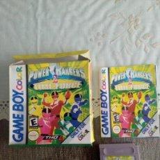 Videojuegos y Consolas: JUEGO CLON GAMEBOY POWER RANGERS. Lote 111782719