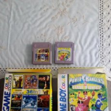 Videojuegos y Consolas: JUEGO CLON GAMEBOY POWER RANGERS Y 36 EN 1. Lote 111783383