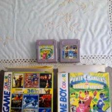 Videojuegos y Consolas: JUEGO CLON GAMEBOY POWER RANGERS Y 36 EN 1. Lote 111783831