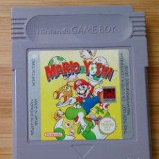 Videojuegos y Consolas: JUEGO NINTENDO GAME BOY GAMEBOY MARIO & YOSHI . Lote 112322663