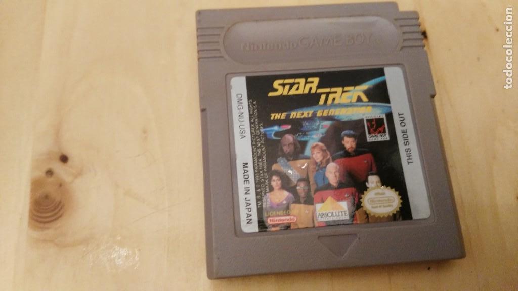 CARTUCHO STAR TREK NEXT GENERATION DIFICIL (Juguetes - Videojuegos y Consolas - Nintendo - GameBoy)