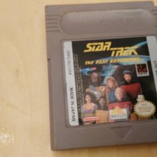 Videojuegos y Consolas: CARTUCHO STAR TREK NEXT GENERATION DIFICIL. Lote 112732335