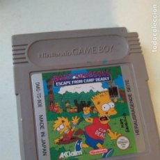Videojuegos y Consolas: JUEGO GAME BOY GAMEBOY BART SIMPSONS ESCAPE FROM CAMP DEADLY. Lote 112777407