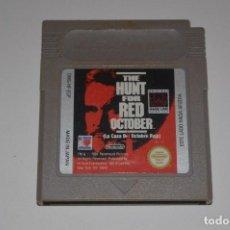 Videojuegos y Consolas: JUEGO NINTENDO GAME BOY THE HUNT FOR RED OCTOBER LA CAZA DEL OCTUBRE ROJO PLATAFORMAS SUBMARINO 1991. Lote 113624995