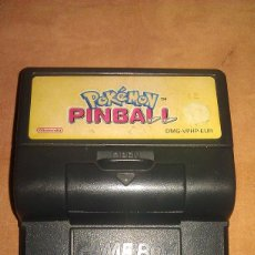 Videojuegos y Consolas: JUEGO POKÉMON PINBALL PARA CONSOLA PORTÁTIL NINTENDO GAME BOY. Lote 114662547
