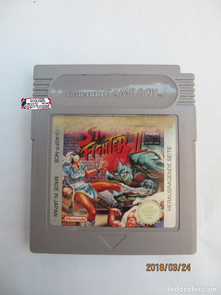 JUEGO DE GAME BOY - STREET FIGHTER 2 (Juguetes - Videojuegos y Consolas - Nintendo - GameBoy)