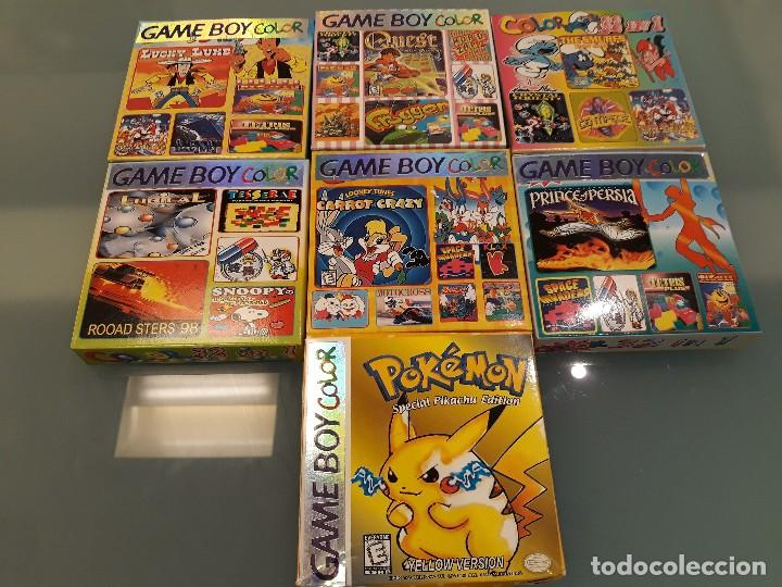 LOTE DE 7 JUEGOS DIFERENTES DE GAME BOY (Juguetes - Videojuegos y Consolas - Nintendo - GameBoy)